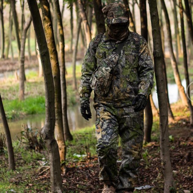 Camouflage Outdoor Military Men winter Tactical Clothing Army Waterproof Clothes 3PCS/Set for Hunting Clothes
