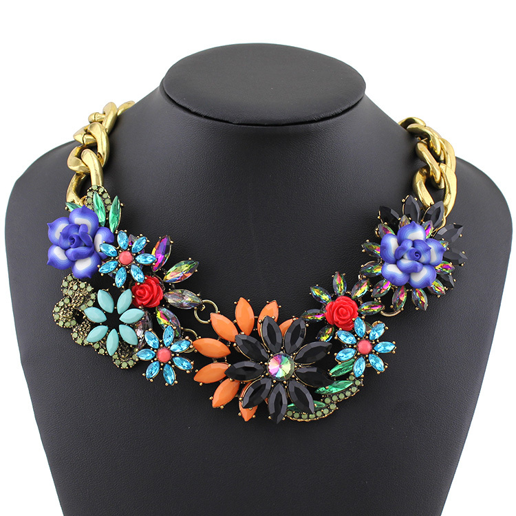 2015 Fashion Necklace Wholesale Shourouk Chain Chunky ...