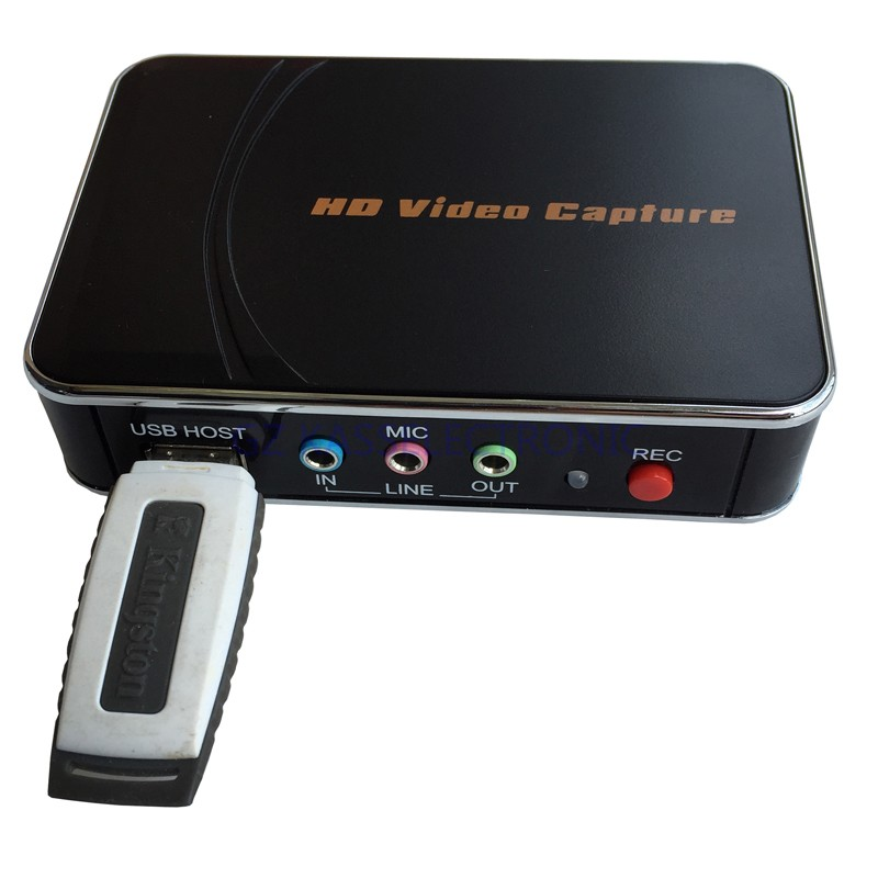 2016 new VHS to DVD converter convert 1080P HDMI YPbPr to U driver HDMI for xbox one game box ps3 Free shipping(China (Mainland))