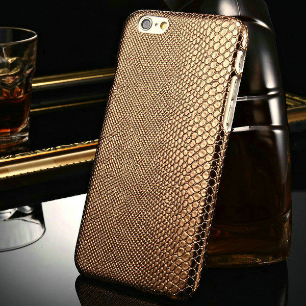 """Fashion PC Hard Case For iPhone 6 4.7"""" Inch Luxury PU Lizard Pattern Back For iPhone6 Protective Phone Shell(China (Mainland))"""
