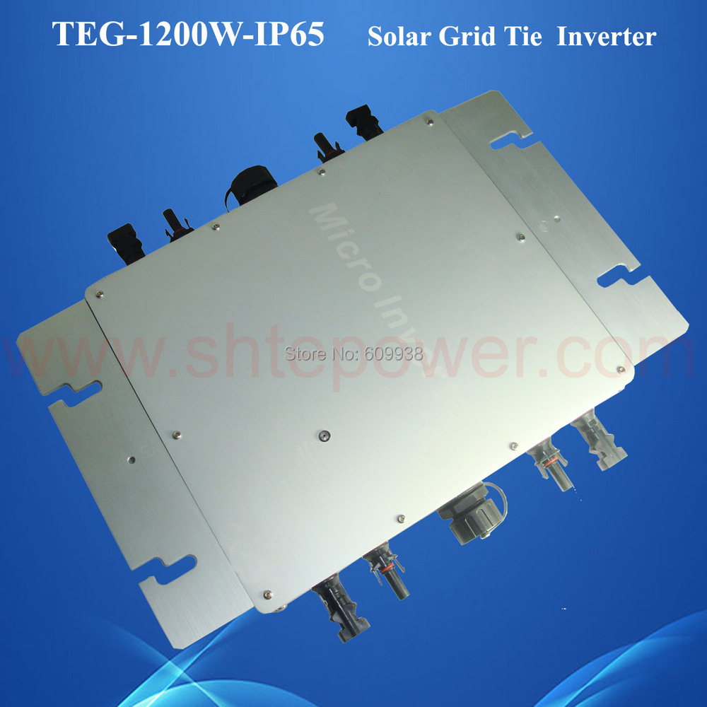2016 New CE EMC Approved 1200w Solar Micro Inverter with a 2 m three-core cable 22-50VDC 80-160VAC for For Solar System(China (Mainland))