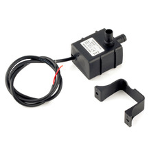 Newest High Quality 240L/H DC 12V 2 Phase CPU Cooling Car Brushless Water Pump Waterproof C1 Free Shipping(China (Mainland))