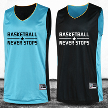Double Sided 2016 Big Size M-4XLBasketball Set High Quality Reversible Suit Shirt Custom Uniform Wear Summer Basketball Jersey(China (Mainland))