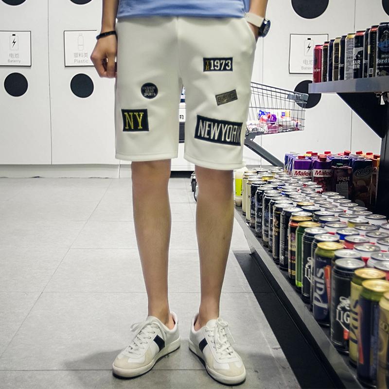 Mens Shorts 2016 Summer Casual Men's Shorts Casual Sport Surf Shorts Men Letters Short Pants(China (Mainland))