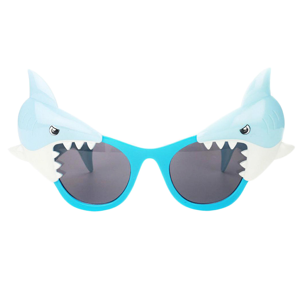 Funny Shark Animal Party Sunglasses Novelty Glasses Fancy Dress Photo Props for Adults Kids
