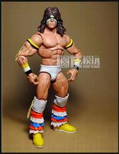 Limited! 18CM High Classic Toy Wrestler Ultimate Warrior action figure Toys