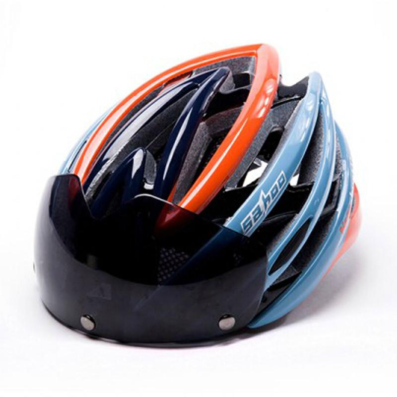 SAHOO Bicycle Helmet Ultralight Cycling Helmet Ciclismo Integrally-molded Bike Helmet Road Mountain MTB Helmet UV Goggles