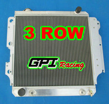 GPI all aluminum radiator FOR Jeep Wrangler YJ/TJ/LJ RHD 1987-2006 AT/ MT 05 04 03 02 01 00 99 98 97 96 95 94 93(China (Mainland))