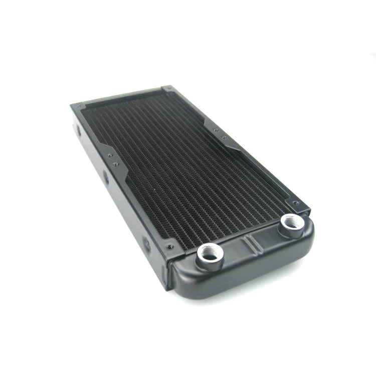 Computer Radiator Water Cooling Cooler for CPU LED Heatsink Aluminum 240mm G1/4(China (Mainland))