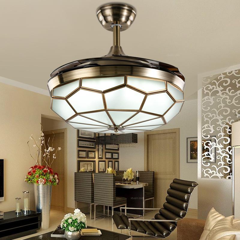Cuivre ventilateur de plafond promotion achetez des cuivre for Ventilateur de plafond pour chambre