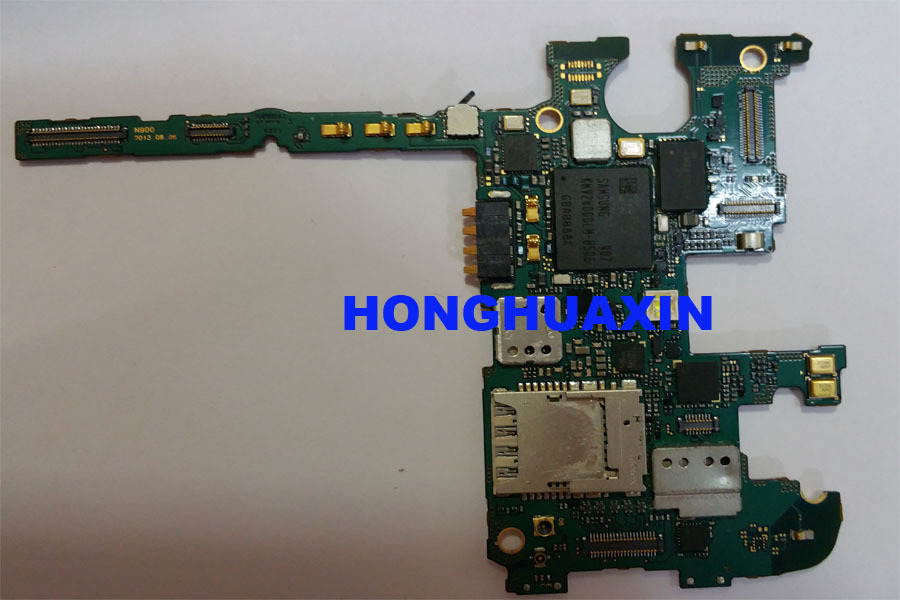 100%Original Unlocked Motherboard for Samsung Galaxy Note 3 N900 Logic Board Mainboard Replacement Parts,good working testing!!!
