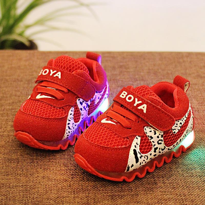 2015 children between autumn new sneakers frosted leather net MianRuan baby toddlers' shoes(China (Mainland))