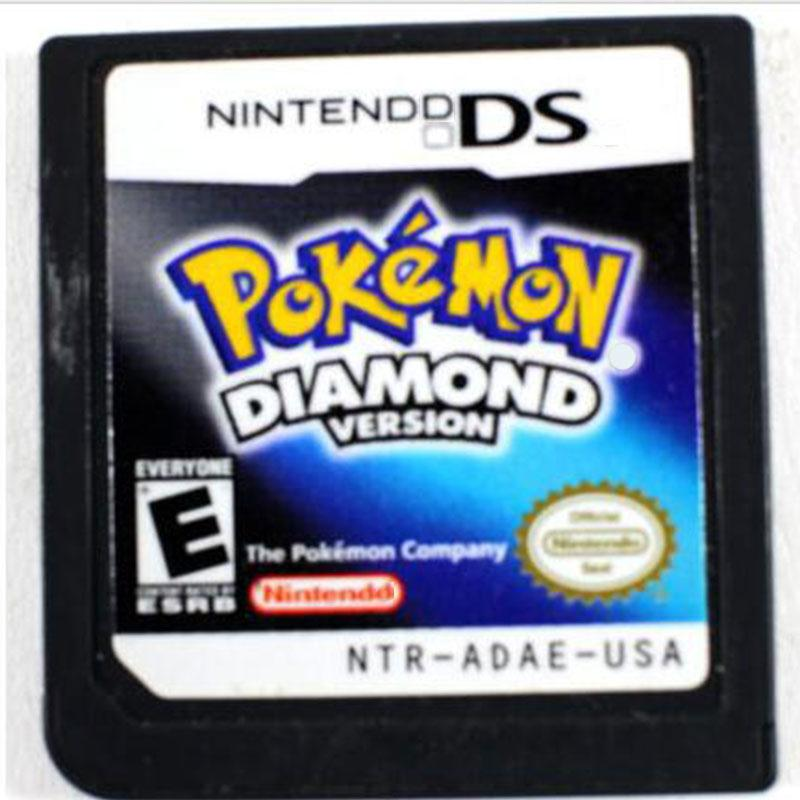 3DS Lite 2DS/3DS/DSI/DS For Pokemon Nintendo DS Diamond Version Game Card(China (Mainland))