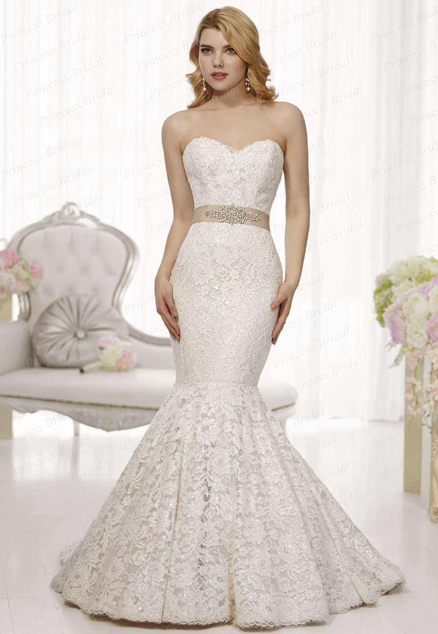 Wedding dress with sash d1446 from reliable dress wholesalers