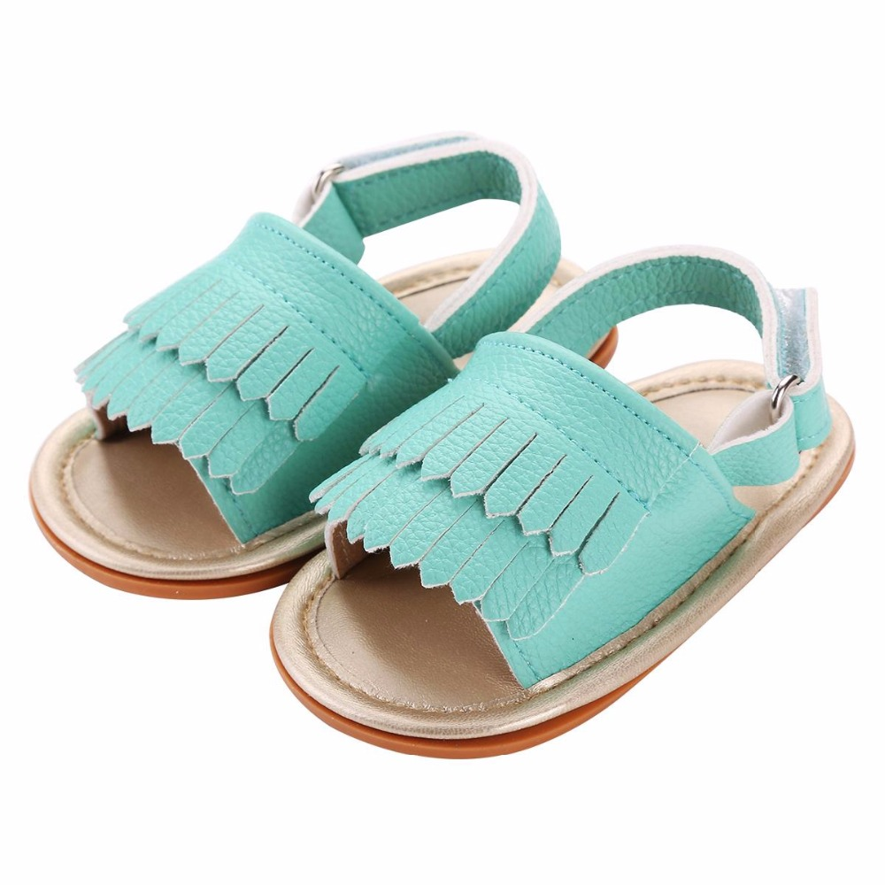 2016 Fashion Fringed Soft Sole Newborn Baby Girl Shoes First Walkers,Summer PU Leather Toddler Zapatos Baby boy Shoes #7P1005(China (Mainland))