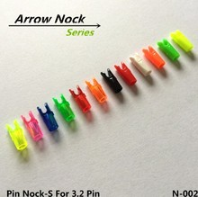 High quality compound bow arrow nocks plastic pin nocks S size for carbon fiber arrows 100pcs/lot free shipping