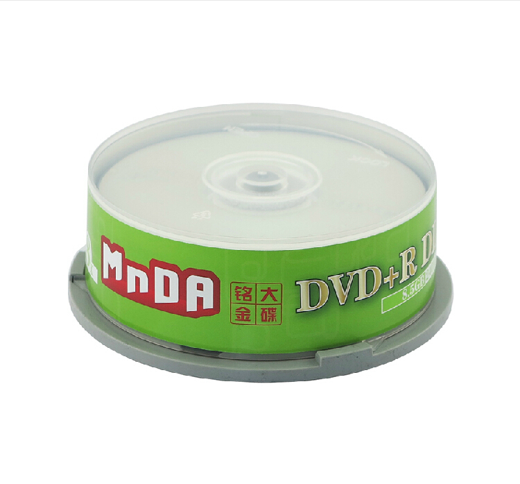 Shipping double CD DVD DVD+R 8.5G 8X large capacity D9 blank CD CD(China (Mainland))