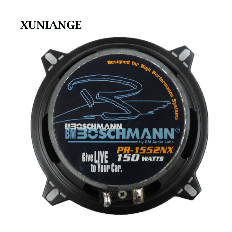 XUNIANGE 2017 great sound 5 inch coaxial car speaker special modified car stereo speakers free shipping(China (Mainland))