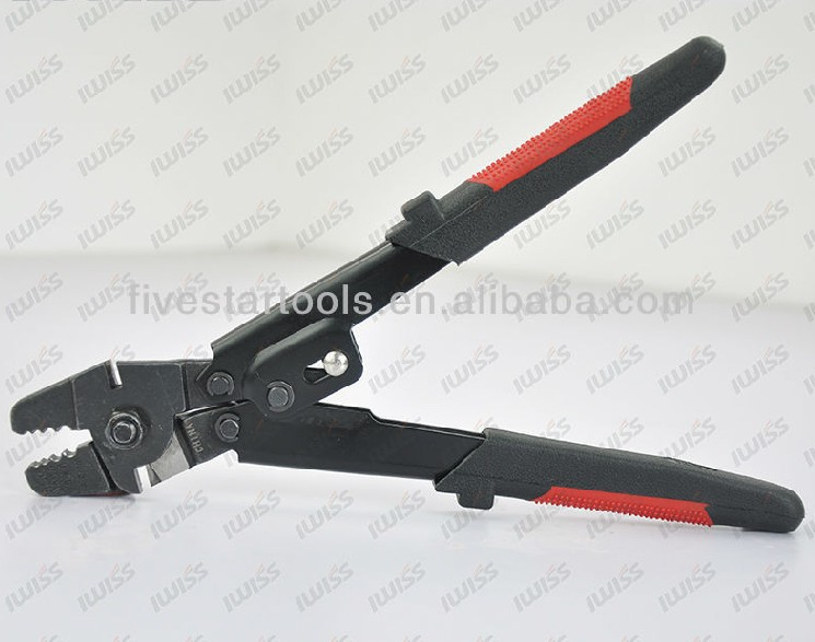 Wxs 250 wire rope crimping tools for crimping fishing for Fishing crimping tool