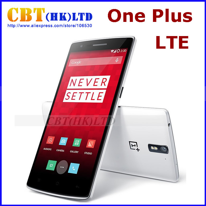"OnePlus One Phone One plus one FDD LTE 4G Mobile Phone 5.5"" 1080P Snapdragon 801 3GB RAM 16/64GB ROM Android 4.4 13MP NFC CM11(Hong Kong)"