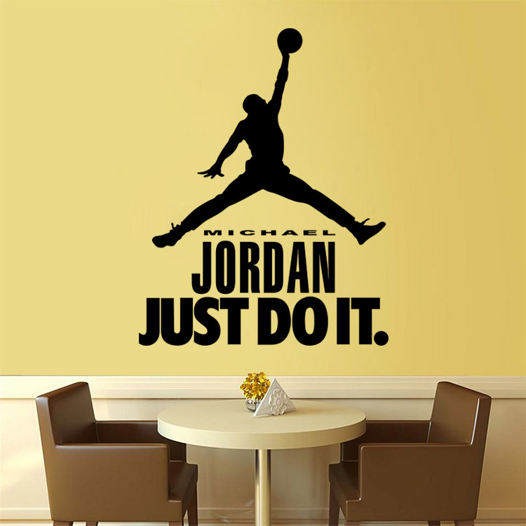 New sports figures wall stickers kids room living room bedroom background wall decorative sticker diy home decorations sticker(China (Mainland))