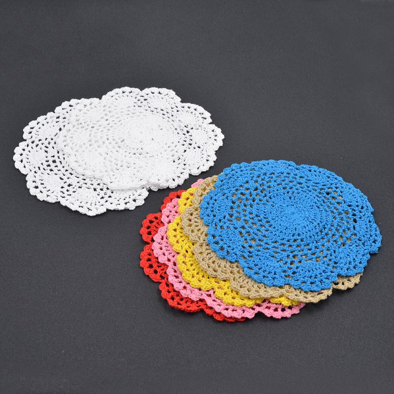 Achetez en gros livraison crochet napperons en ligne des for Set de table crochet