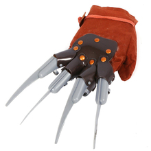 Top Grand 2016 Special Offer Horror Halloween Celebrations Wolf Gloves Monster Paws Costume Party Cosplay Latex Glove(China (Mainland))