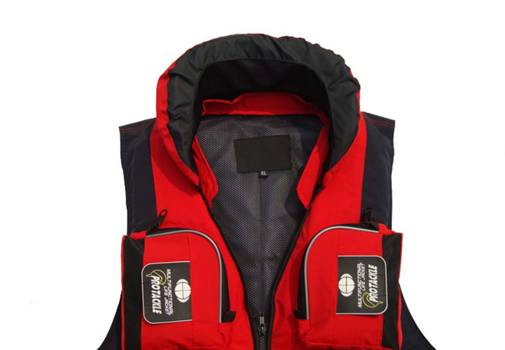 Professional Life Vest Life Jacket for Adult Safety Fishing Rafting Swimming Water Outdoor Survival Swimwear Water jacket(China (Mainland))