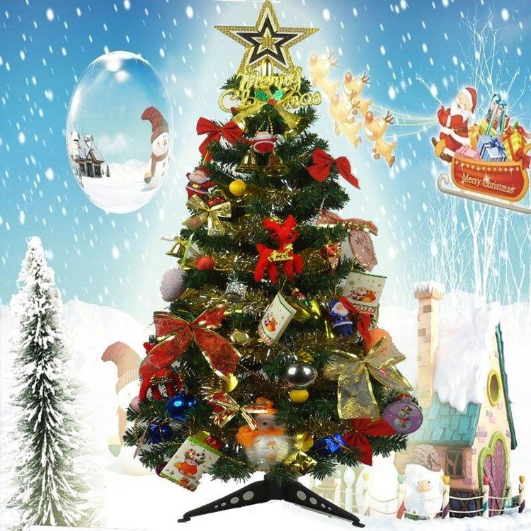 Sale 90cm mini desktop christmas tree for children with christmas tree