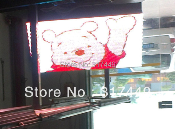 """P10 RGB LED SIGN OUTDOOR 96cm x 48cm,38"""" x 19"""",FRONT OPEN RGB led moving full color led sign scrolling message board(China (Mainland))"""