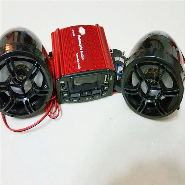 car Motorcycle audio Motorcycle mp3 subwoofer high power amplifier radio(China (Mainland))