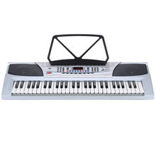 54 Keys Multifunctional Teaching-Type Electronic Keyboard LED Display Electronic Piano Organ with Music Stand & Microphone(China (Mainland))
