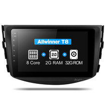 Asottu CRAV48060 Octa 8 Core DVD del coche de navegación GPS Player Android 8,1 reproductor de DVD del coche para toyota rav4 2007, 2008 2009, 2010, 2011,(China)
