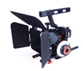 15mm Rod Rig DSLR Camera Video Stabilizer Cage Follow Focus Matte Box for Sony A7 A7S