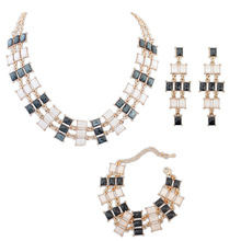 2014 Hot Sale Special Offer Women Crystal African Beads Jewelry Set Jewelry Set Se116 Ruili Simple Temperament Fashion Suits