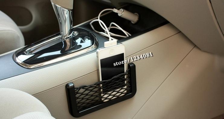 Гаджет  2015 Free Shipping car debris bags Zhiwu Dai second-generation mobile phone network storage shelf automotive supplies  None Автомобили и Мотоциклы