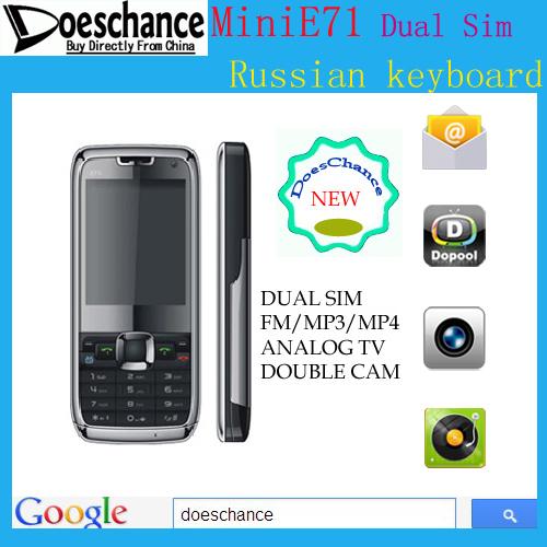 TNT= CN post mini E71 mobile phone