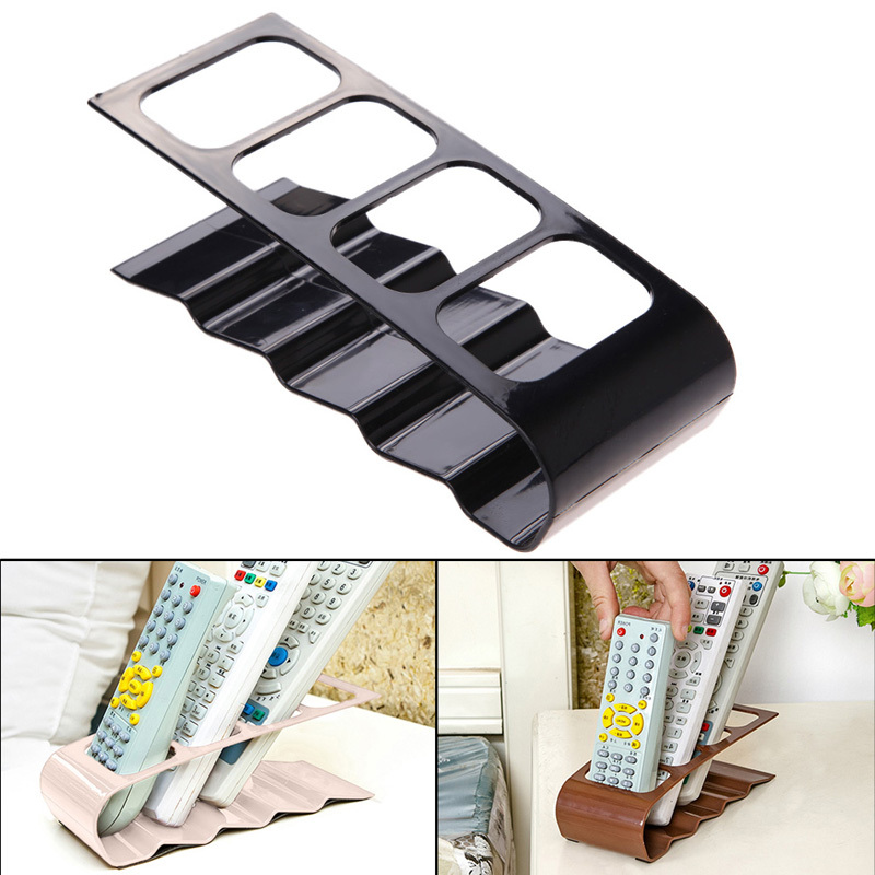 DU# 4 Section Home Appliance TV DVD VCR Remote Control Stand Holder Storage Organiser Mobile Phone Holder Free Shipping(China (Mainland))