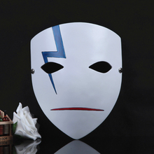 Buy High Qualilty Masquerade Masks,Halloween Mask,Japanese Cartoon Cosplay DARKER THAN BLACK Mask Li Shunsheng Thunder Resin Mask for $26.42 in AliExpress store
