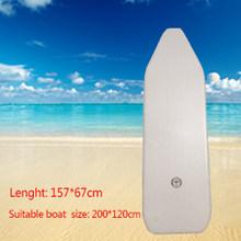 175-260cm PVC bateau gonflable résistant à l'usure pliable Air aviron Kayak/bateau de pêche pour 1-5 personne dériveur de pêche Sports de plein Air(China)