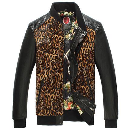 Motorcycle leather jacket men 2015 Spring Autumn Winter Fashion Full Short  Pockets Regular DFF212Одежда и ак�е��уары<br><br><br>Aliexpress