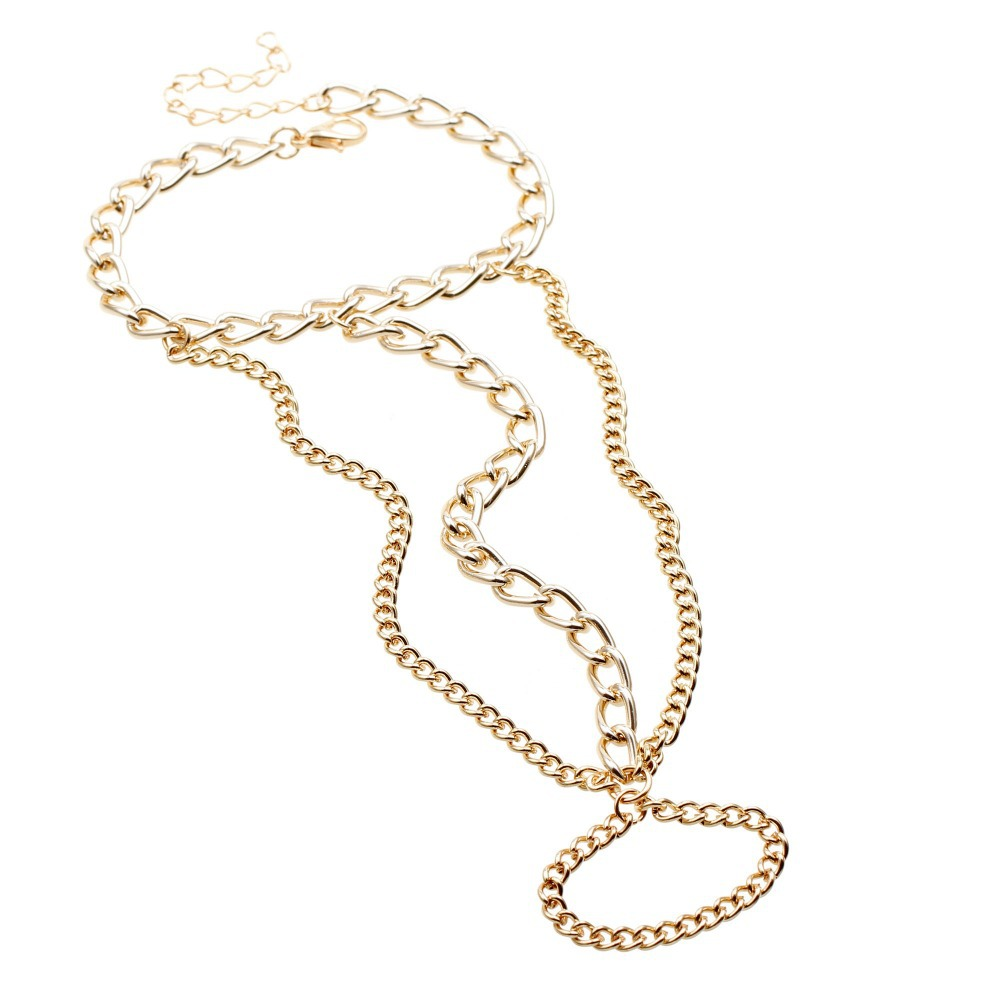 bracelet usb flash drive picture more detailed picture about pulseira jewelry imitation gold chain linked bracelet elegant finger loop women s wire harness hand