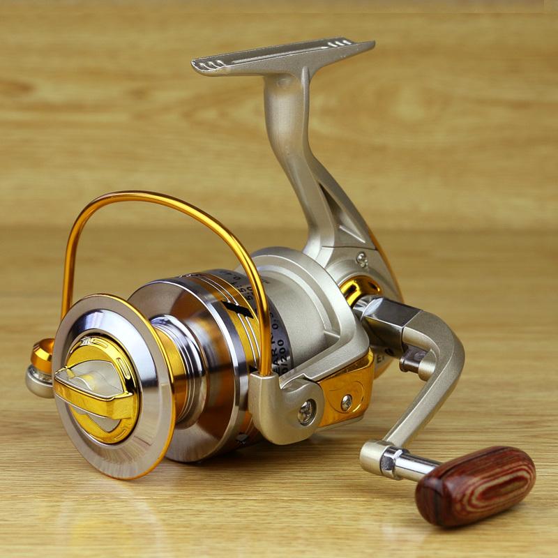 2015 new Bearing Balls Spool Aluminum Spinning fly fishing reels for Feeder baitcasting fishing front drag