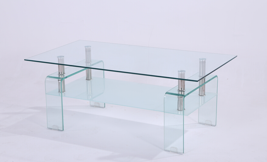 28 china bended glass coffee table living room furniture gl