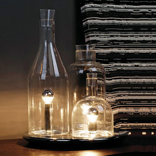 Unique table lamp bedroom bedside lamp transparent intable for Unique bedroom lamps