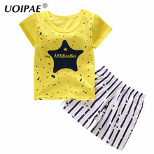 Buy Baby Boys Clothes 2017 Summer T Shirt+Pants 2 Pcs Boys Set Cartoon Boys Clothing Set 1-5Y Children Clothing Kids Clothes PY008 for $2.99 in AliExpress store