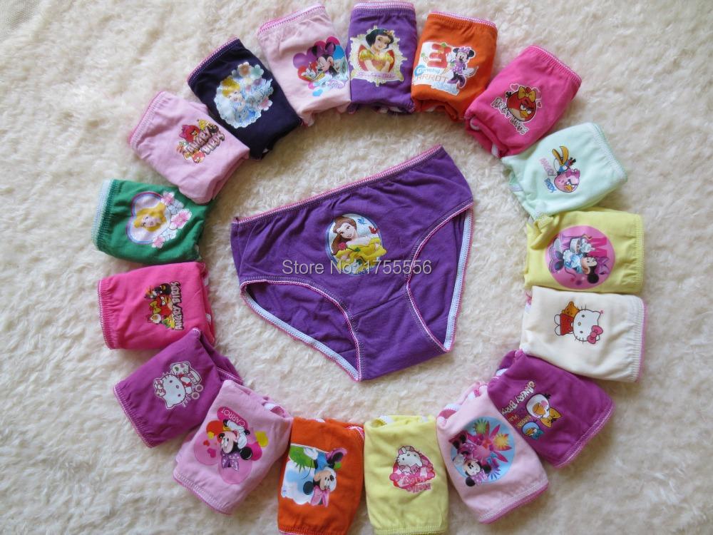Discount Brand baby underwear Panties girls underwear calcinha child panties girl cotton modal briefs wholesale 12 pieces lot(China (Mainland))