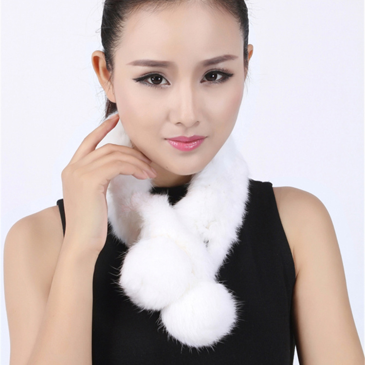 2015 Manufacturers Wholesale Scarf Supply Women's Elegant Lady Cony Hair Scarf Scarf Warm In Autumn And Winter Ladies Scarf D10(China (Mainland))