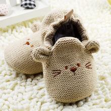 Mode Neue Herbst Winter Baby Schuhe Lauflern Newborn Krippe Schuhe 0-18 Mt Schuhe(China (Mainland))