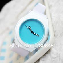 Envío gratis, 2013 la nueva venta reloj de la jalea tiempo patrón contratado relojes moda de caramelo femeninos
